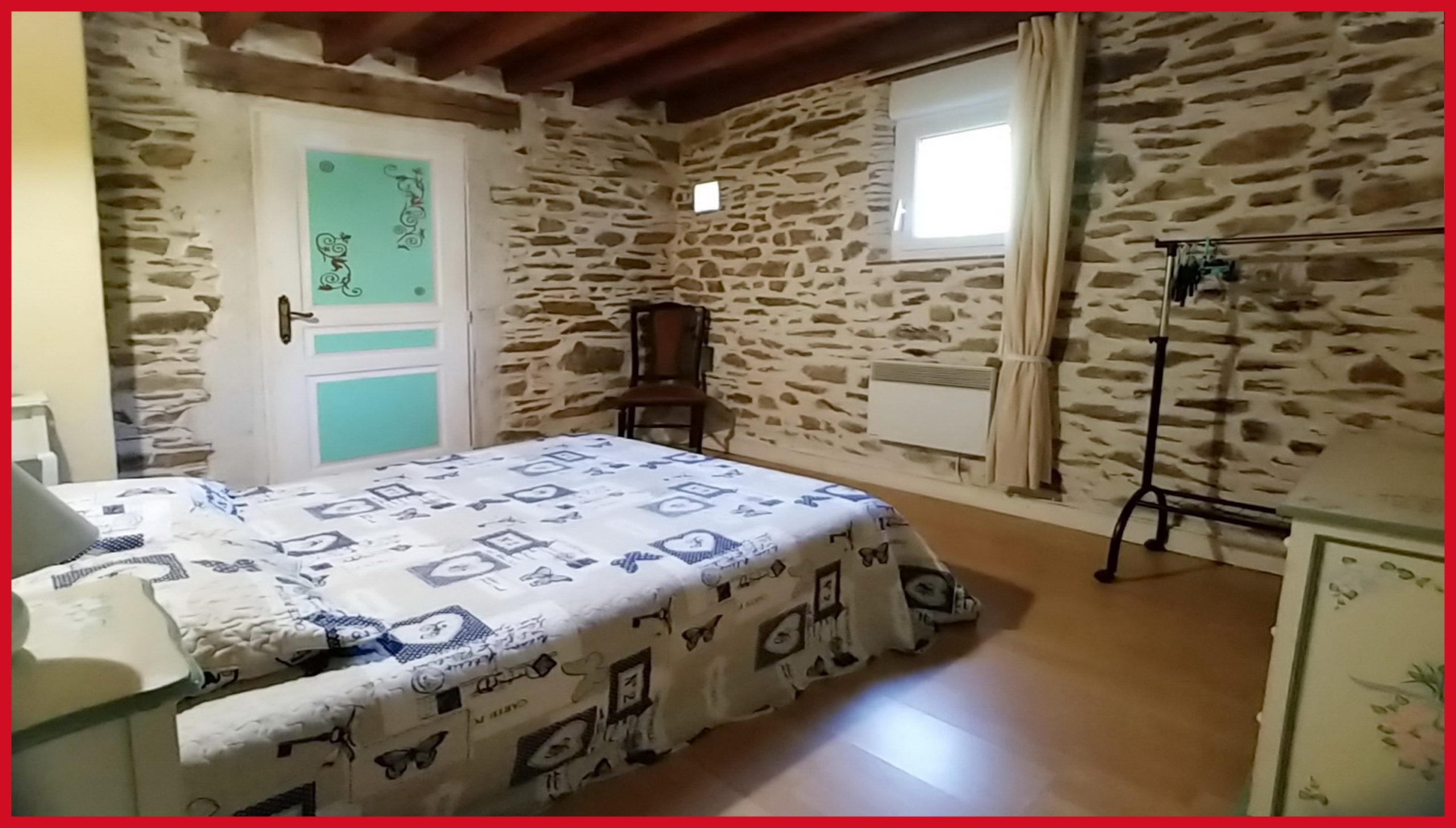(26) Chambre 3 Gite de la Meunière (lit 140x190)