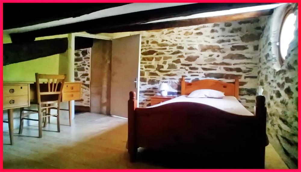 (27) Chambre 4 Gite de la Meunière (lit 90x190)