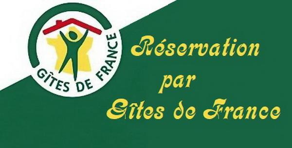 Réservation par Gites de France